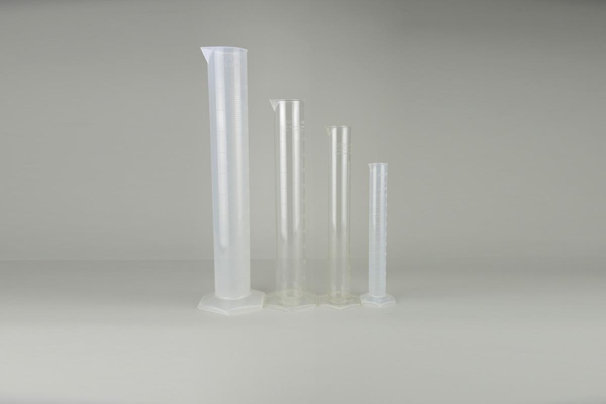 Cylindres gradués en polypropylène