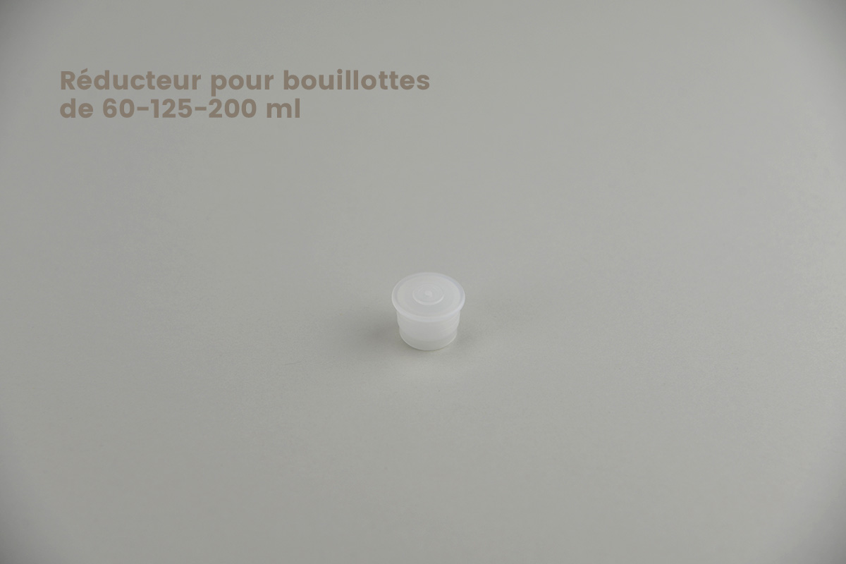 Fermetures pour bouillottes en polyéthylène