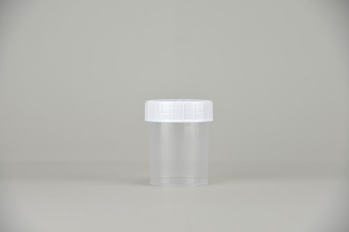Gobelet à urine avec couvercle
