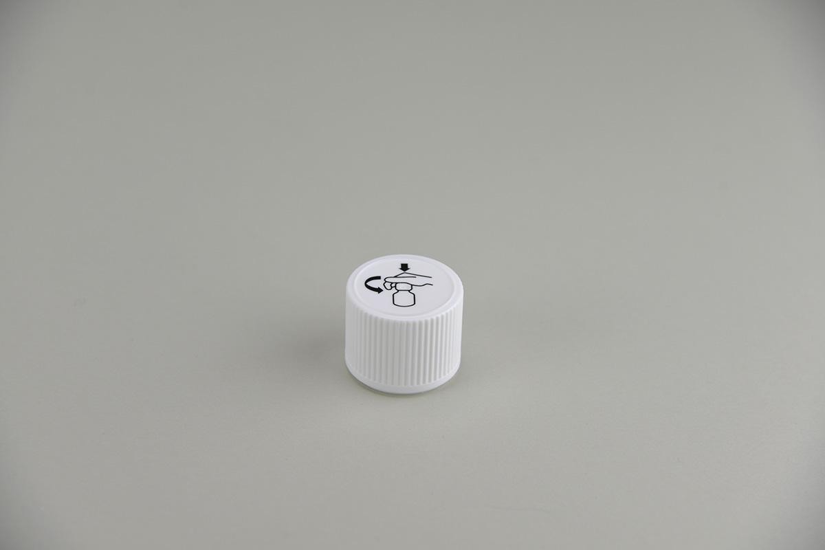 Fermetures pour flacons rectangulaires PP 28