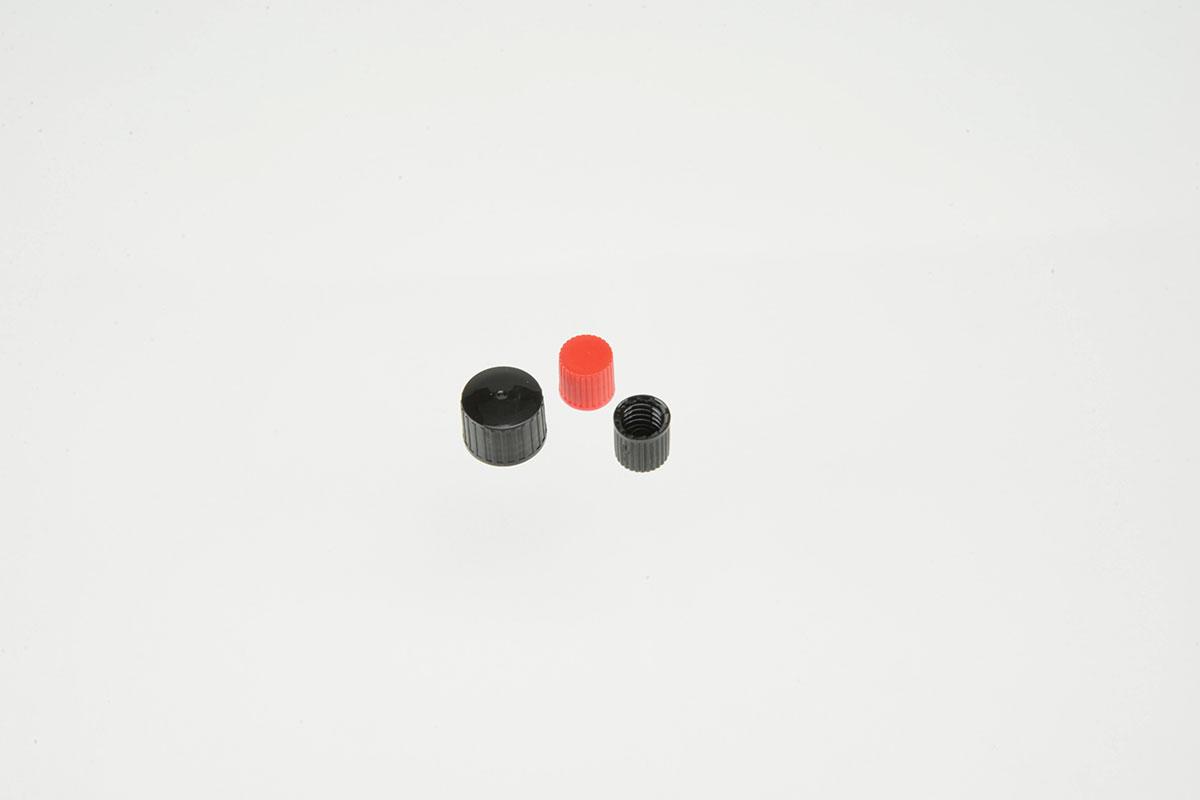 Fermetures et vaporisateurs pour tubes à échantillons et bouillottes en verre